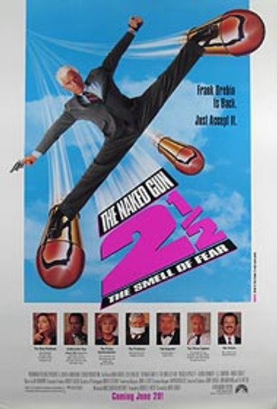 THE NAKED GUN 2 1/2: THE SMELL OF FEAR (Single Sided Regular) ORIGINAL CINEMA POSTER