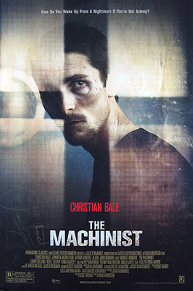 THE MACHINIST (Single Sided Regular) ORIGINAL CINEMA POSTER