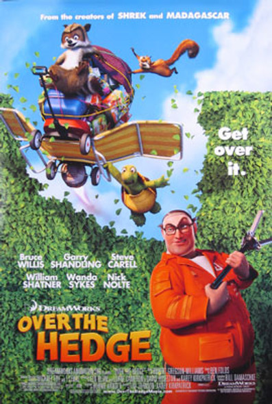 OVER THE HEDGE (Double Sided Regular) ORIGINAL CINEMA POSTER
