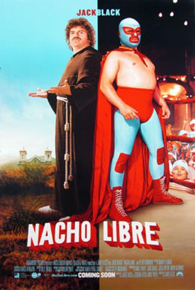 NACHO LIBRE (Double Sided Regular Style B) ORIGINAL CINEMA POSTER