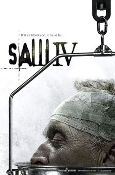 SAW 4 (Single Sided Advance) ORIGINAL CINEMA POSTER
