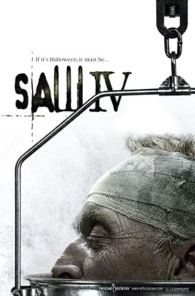 SAW 4 (Single Sided Advance) ORIGINAL CINEMA POSTER