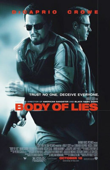 BODY OF LIES ORIGINAL CINEMA POSTER
