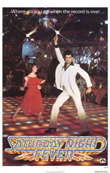 SATURDAY NIGHT FEVER (Reprint) REPRINT POSTER