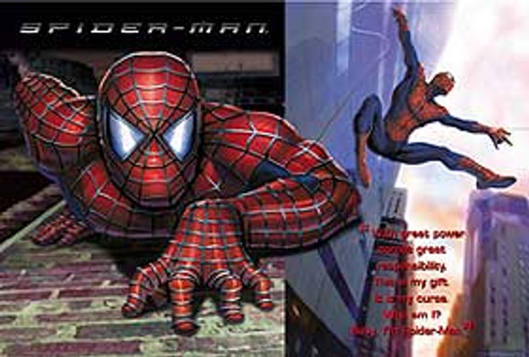 SPIDERMAN (Who Am I? Reprint) REPRINT POSTER