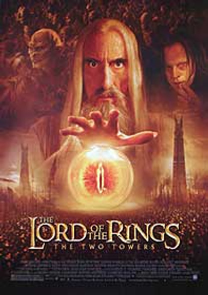 THE LORD OF THE RINGS: THE TWO TOWERS (Saurman Reprint) REPRINT POSTER