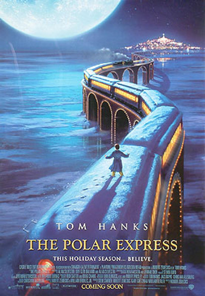 POLAR EXPRESS (International Reprint) REPRINT POSTER