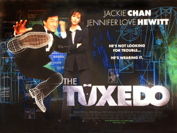 THE TUXEDO (DOUBLE SIDED) ORIGINAL CINEMA POSTER