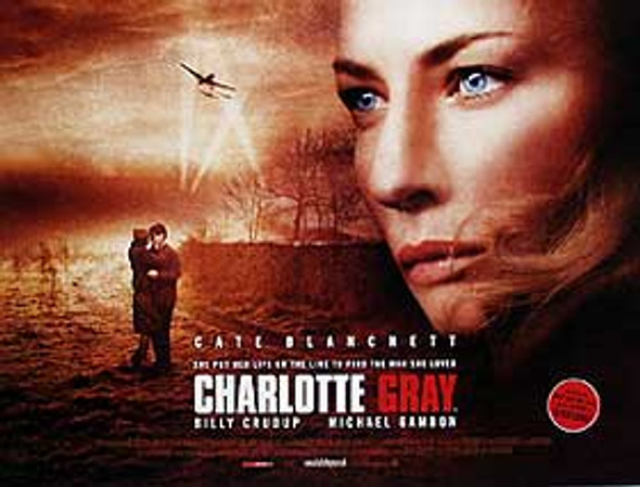 CHARLOTTE GRAY (Double Sided) ORIGINAL CINEMA POSTER
