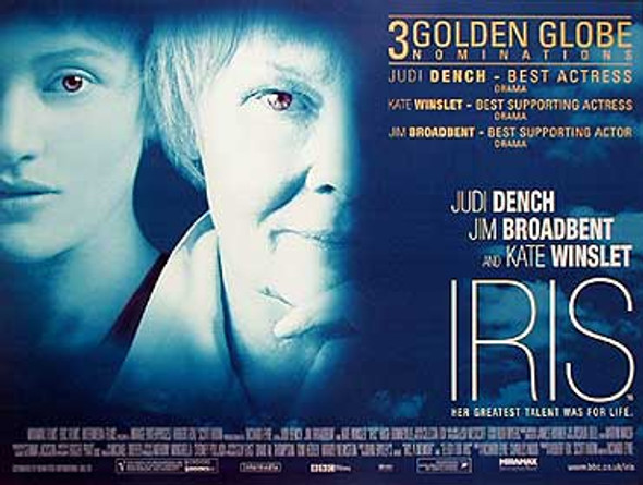 IRIS (SINGLE SIDED) ORIGINAL CINEMA POSTER