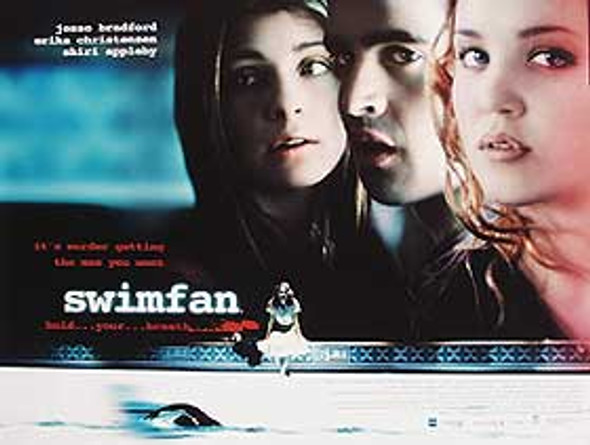 SWIMFAN (DOUBLE SIDED) ORIGINAL CINEMA POSTER
