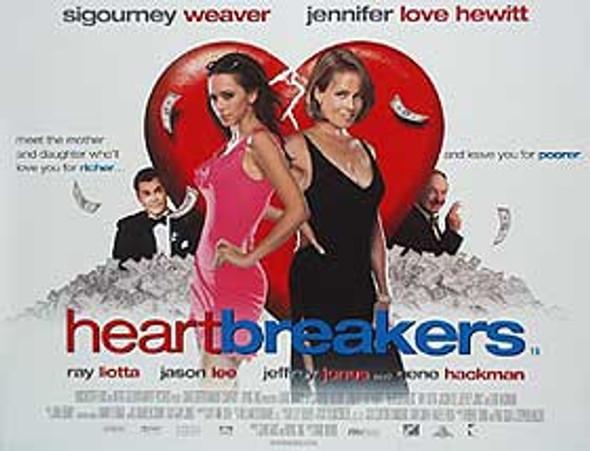 HEARTBREAKERS (DOUBLE SIDED) ORIGINAL CINEMA POSTER