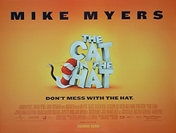 THE CAT IN THE HAT (Advance) ORIGINAL CINEMA POSTER