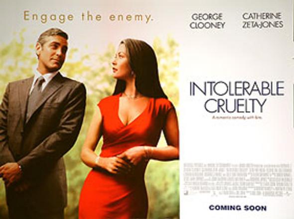 INTOLERABLE CRUELTY (Regular) (DOUBLE SIDED) ORIGINAL CINEMA POSTER