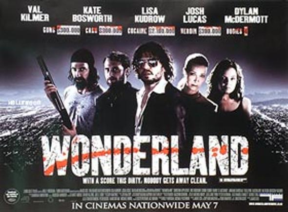 WONDERLAND (SINGLE SIDED) ORIGINAL CINEMA POSTER