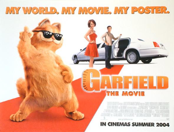 GARFIELD ORIGINAL CINEMA POSTER