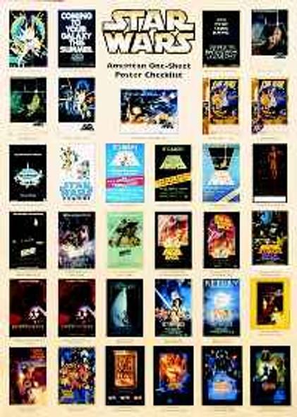 STAR WARS COLLECTION ORIGINAL CINEMA POSTER