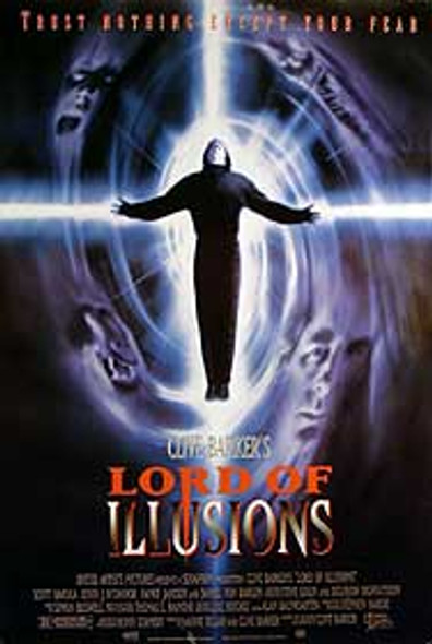 LORD OF ILLUSIONS (SINGLE SIDED) ORIGINAL CINEMA POSTER