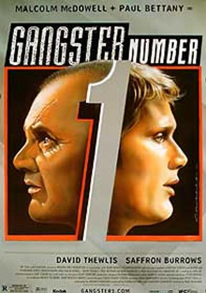 GANGSTER NUMBER 1 (Single Sided Regular) ORIGINAL CINEMA POSTER
