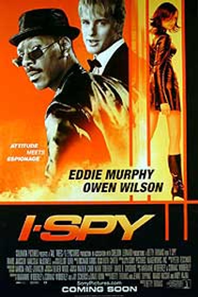 I SPY (Double Sided Regular) (UV COATED) ORIGINAL CINEMA POSTER