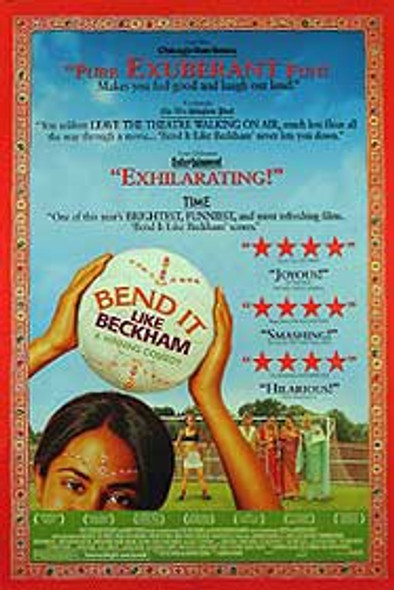 BEND IT LIKE BECKHAM (Double Sided Regular Review Style) ORIGINAL CINEMA POSTER