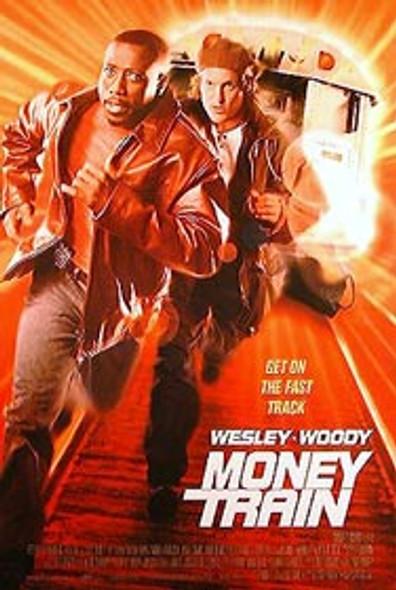 MONEY TRAIN (Single Sided Regular) ORIGINAL CINEMA POSTER