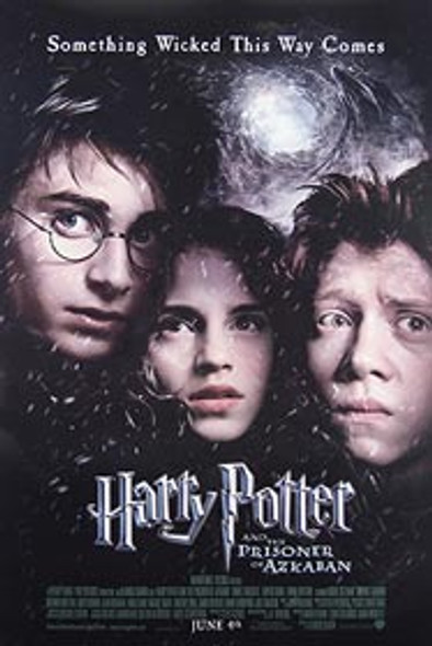 HARRY POTTER AND THE PRISONER OF AZKABAN (Double Sided Regular) ORIGINAL CINEMA POSTER