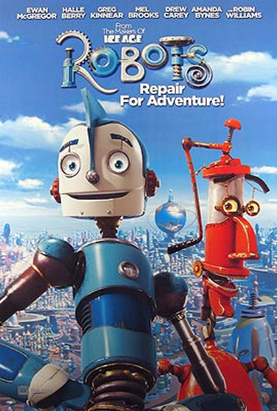 ROBOTS (Single Sided Advance) ORIGINAL CINEMA POSTER