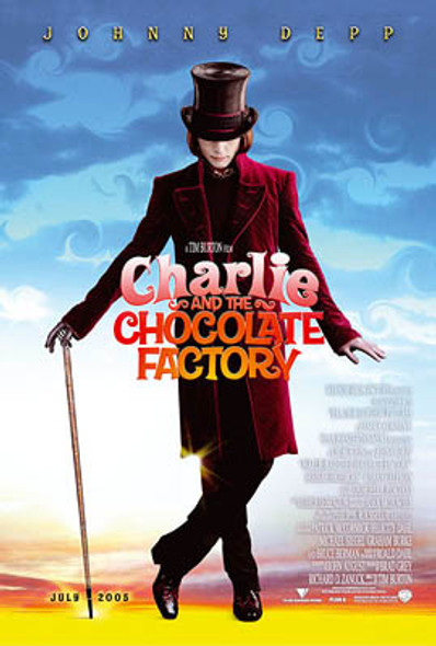 CHARLIE AND THE CHOCOLATE FACTORY (Single Sided Advance) ORIGINAL CINEMA POSTER