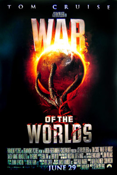 WAR OF THE WORLDS (Double Sided Style C) ORIGINAL CINEMA POSTER