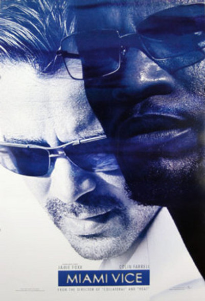 MIAMI VICE (Double-sided Advance) ORIGINAL CINEMA POSTER
