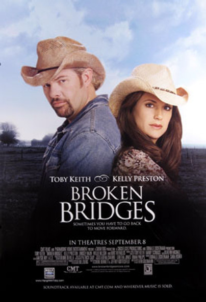 BROKEN BRIDGES (Double Sided Regular) ORIGINAL CINEMA POSTER