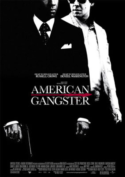 AMERICAN GANGSTER (Single Sided Regular) ORIGINAL CINEMA POSTER