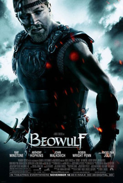 BEOWULF (Double Sided Regular) ORIGINAL CINEMA POSTER