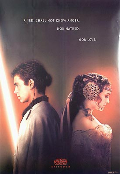 STAR WARS EPISODE 11 - ATTACK OF THE CLONES (Advance Reprint) REPRINT POSTER
