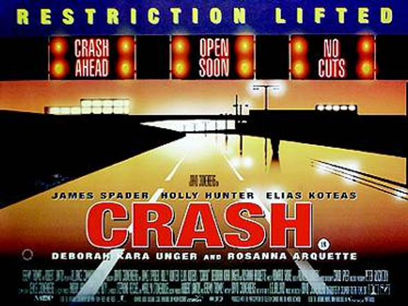 CRASH ORIGINAL CINEMA POSTER