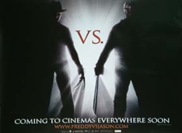 FREDDY VS. JASON (Single Sided Advance) ORIGINAL CINEMA POSTER