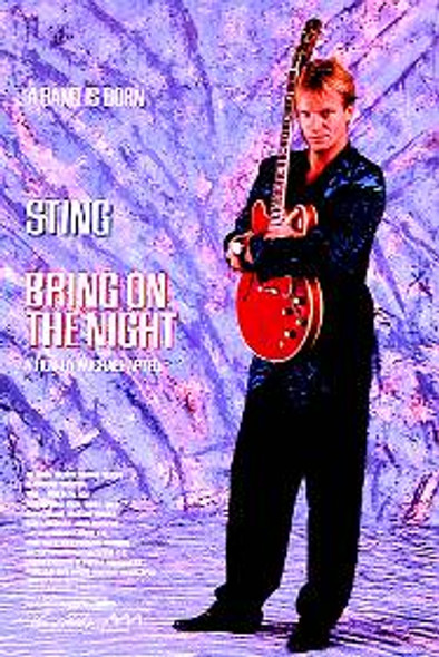 BRING ON THE NIGHT (STING) (Single Sided) ORIGINAL CINEMA POSTER
