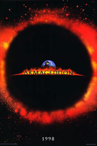 ARMAGEDDON (Double Sided Advance) ORIGINAL CINEMA POSTER