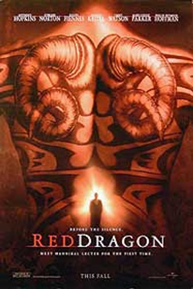RED DRAGON (Single Sided Advance UV Coated) ORIGINAL CINEMA POSTER