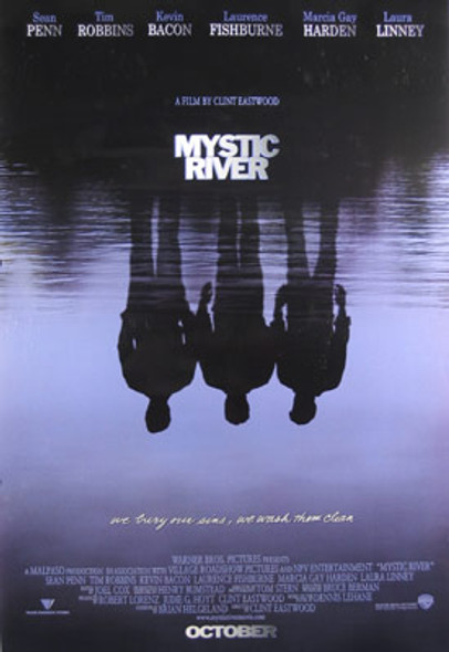 MYSTIC RIVER (Single Sided Advance Style A) (UV Coated/High Gloss) ORIGINAL CINEMA POSTER