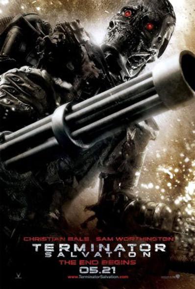 TERMINATOR (Double Sided) (Endoskeleton) ORIGINAL CINEMA POSTER