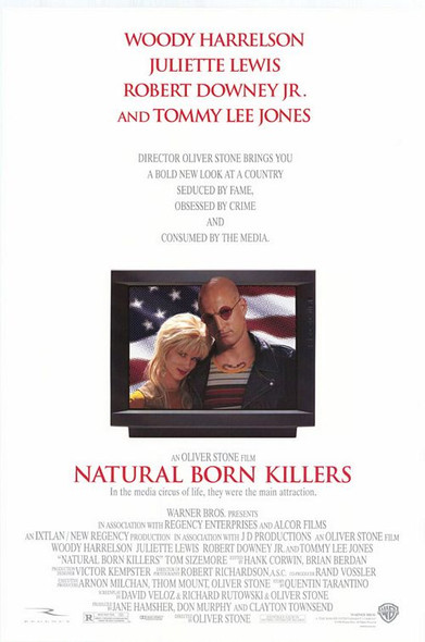 NATURAL BORN KILLERS (DOUBLE SIDED) ORIGINAL CINEMA POSTER