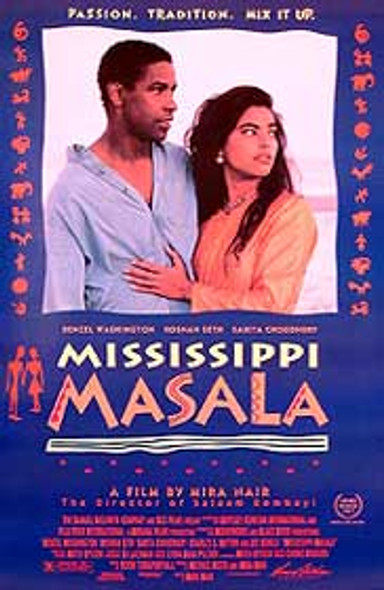 MISSISSIPPI MASALA (SINGLE SIDED) ORIGINAL CINEMA POSTER