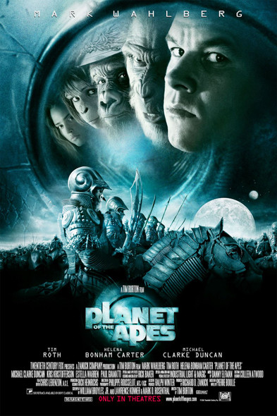 PLANET OF THE APES 2001 (Style C) ORIGINAL CINEMA POSTER