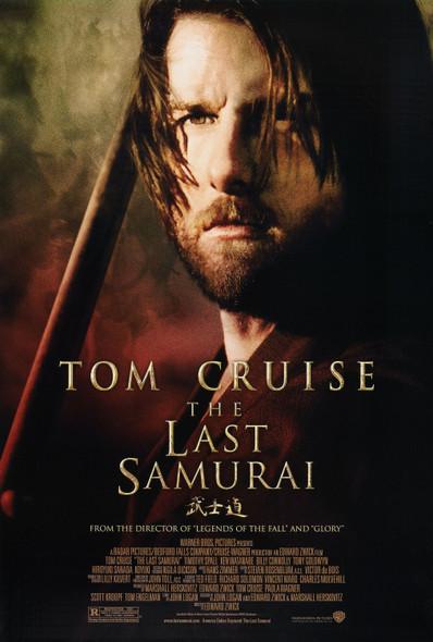 THE LAST SAMURAI (Double Sided Regular) ORIGINAL CINEMA POSTER