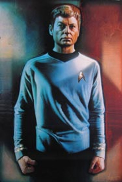 DR. BONES MCCOY (single Sided) ORIGINAL CINEMA POSTER