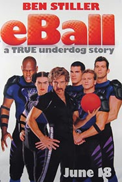 DODGEBALL: A TRUE UNDERDOG STORY (Single Sided Advance Style A) ORIGINAL CINEMA POSTER