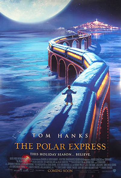 POLAR EXPRESS (Double Sided International) ORIGINAL CINEMA POSTER