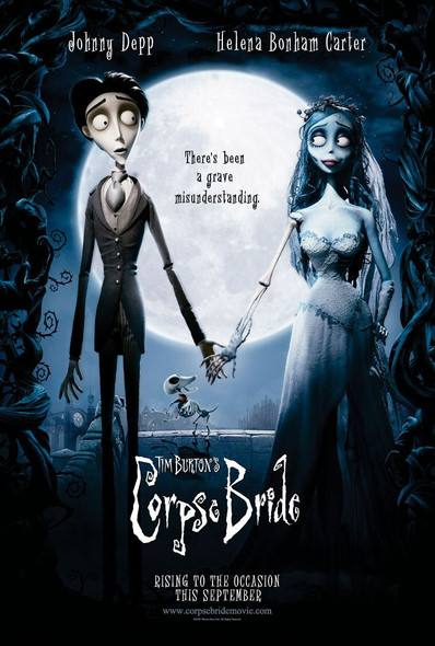 Corpse Bride Original Movie Poster Advance Style
